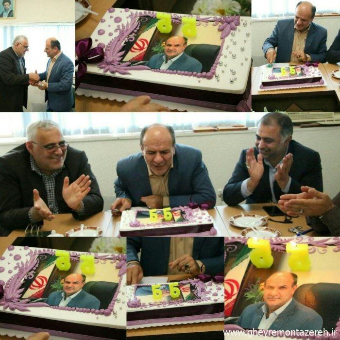 رحیم حیدری - جشن تولد، حمله به دوربین، اسپند دود دادن، شکایت از خبرنگاران، تقدیر از همسر، امریه پسر و تهدید مردم!